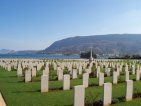 Respect: view of Souda Bay Cemetery