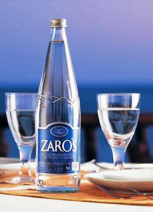 Zaros Natural Water