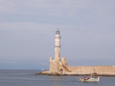 Attractions: the lighthouse Chania
