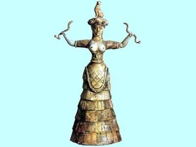 Mythology: The Cretan Snake Goddess