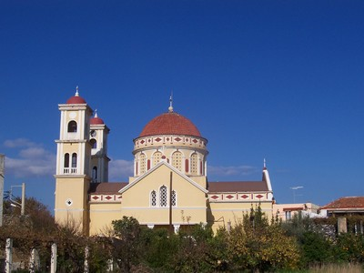 Tradition: the Church at Kalyves