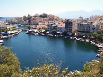 Scenic View of Agios Nikolaos
