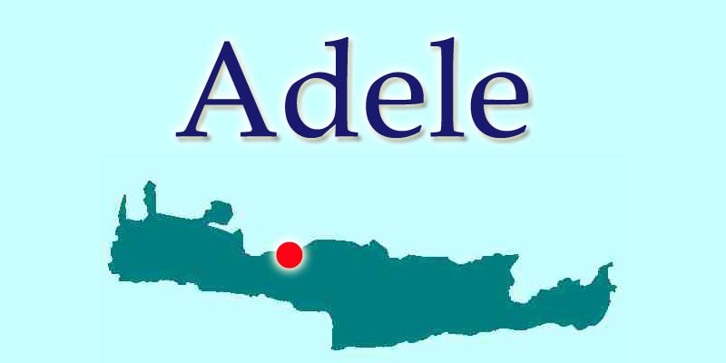 Adele Crete Location