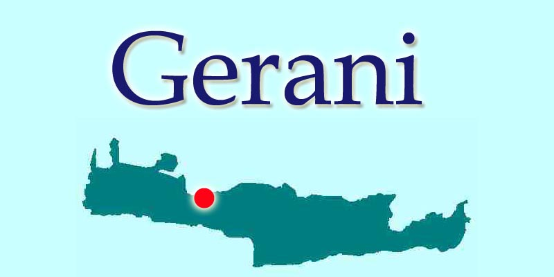 Gerani Crete Location