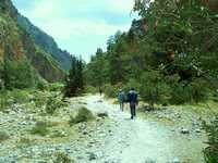 Hiking Samaria Gorge