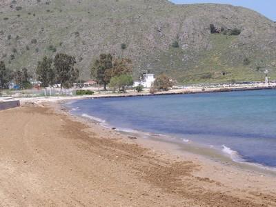 One of the beaches at Georgioupoli