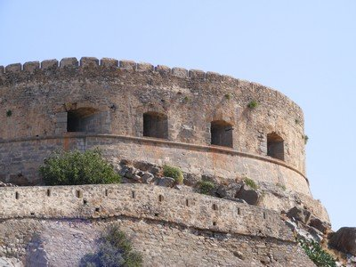 History: the Turkish Fort at Aptera