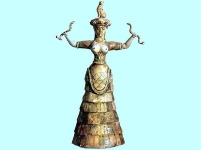 Mythology: The Cretan Snake Goddess